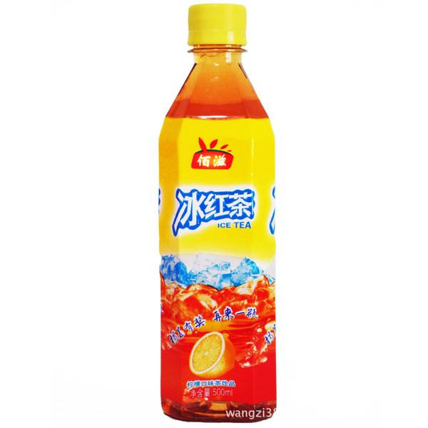 厂家批发供应500ML冰红茶饮料茶饮料诚招代理加盟