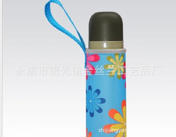 供应印花系列杯套,350-500毫升潜水料杯套潜水料杯套