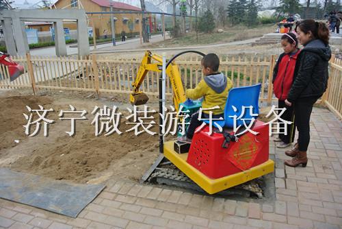 新型户外儿童乐园设备儿童游乐挖掘机国内独家首创质量可靠