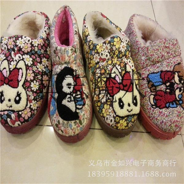 雪地靴批发百搭个性女式棉鞋保暖女鞋雪地靴冬季女式时尚鞋子