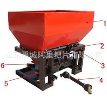 供应撒肥机施肥机双盘撒播机悬挂双盘撒肥拖拉机悬挂施肥机