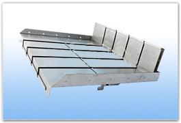 大量供应钢板式机床导轨防护罩伸缩式、高速式质优价廉