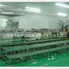 深圳厂家提供半封闭式全自动超声波清洗设备