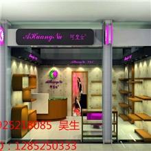厂家订做展示柜木质烤漆展示柜服装陈列木质烤漆展示柜