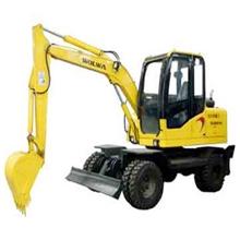 供应沃尔华DLS880-9A7.2吨轮式液压挖掘机小挖掘机