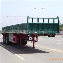 北京中集挂车销售华骏13米超轻型栏板半挂车销售13911775854