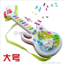 W073批发儿童乐器宝宝启蒙玩具可爱羊羊音乐吉它儿童早教玩具