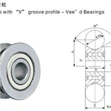 厂家销售单向导轨滚轮轴承RV202/15.38-10