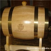 红酒木桶白酒木桶激光刻字刻标刻图案加工