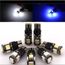 新款T105SMD示宽灯汽车改装LED示宽灯双模式示宽灯爆闪灯