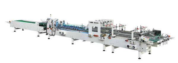 全自动糊盒机粘盒机卡纸瓦楞纸两用高速设备