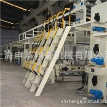 低价供应京山1800B五层瓦楞纸板生产线