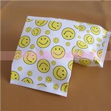 批发定做防油纸袋笑脸纸袋淋膜纸袋环保纸袋11*14.5*390个