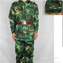 迷彩服、批发军训迷彩服、林地作训服林地迷彩服、军训工作服