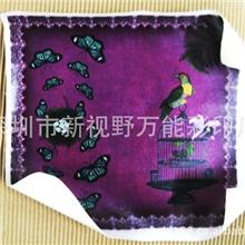 厂家定制皮革数码打印皮革彩印加工高清彩印皮革皮革彩绘