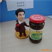 供应海宁酱腌菜之320克瓶装系列------小青瓜