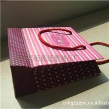 厂家订做铜版纸手提袋白卡纸手提袋彩色手提纸袋购物袋