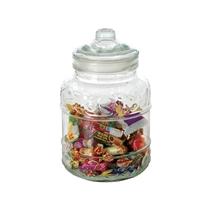 【少量可批】文美玻璃储物罐干粮茶叶罐糖果收纳罐玻璃罐