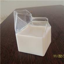 【厂家特价直供】出口美国牛奶盒牛奶杯方形玻璃牛奶盒玻璃
