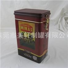 【爆款】精美高档咖啡铁盒茶叶铁罐马口铁盒金属罐tinbox