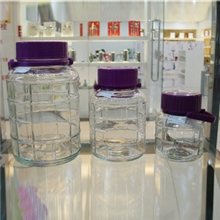 徐州玻璃瓶厂直销玻璃瓶泡酒玻璃罐大酒坛子