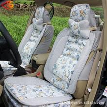 百合祥座垫汽车座垫四季通用座垫亚麻材料座垫座垫批发座垫