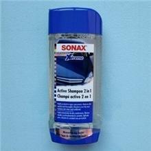 德国原装进口SONAX洗车液/洗车蜡2合1浓缩洗车液214200