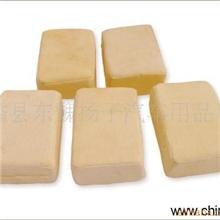 供应麂皮油鞣革擦车海绵方块海绵包