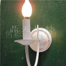供应白色铁艺单头壁灯鼎天灯饰DT-1B191