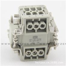 『厂家直销』重载连接器HDC-HE-0066芯工业插座矩形插座