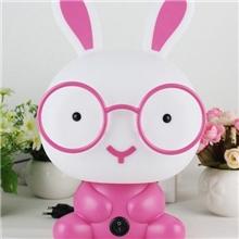 创意新款萌兔情侣台灯时尚眼镜台灯卡通礼品台灯儿童台灯