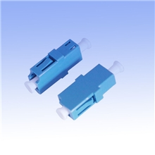 【厂家直销】LC/SM单工光纤适配器光纤连接器