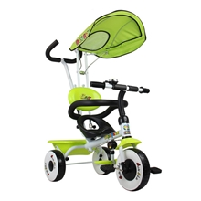 TM02002儿童三轮车脚踏车手推车三轮童车自行车T016
