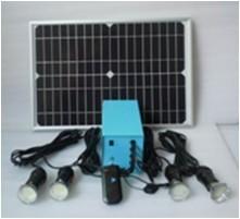 畅销国外20W太阳能灯系统