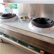 专业生产自助餐酒店餐饮设备,食堂炉灶之双炒一温节能灶