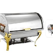 【抄底价】美博士mbs5013酒店用品餐饮设备自助餐炉镀钛方形