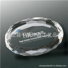 【高档】水晶玻璃纸镇镇纸送男友送老公送女友送老婆生日礼物