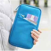 彩蝶云韩版旅行必备多功能旅行收纳包旅行护照包票夹钱包