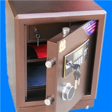 2012最新款领安防火电子保险柜保管箱十大品牌家用保险柜