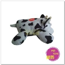 新款宠物玩具批发出口玩具宠物玩具啃咬毛绒玩具牛