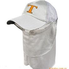 供应原单钓鱼帽防晒帽钓鱼防晒帽防晒防紫外线带披肩帽