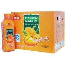 500ML百滋芒果口味果汁饮料食品饮料厂家生产直销诚招代理加盟