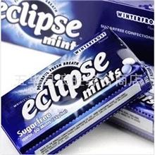 批发供应进口美国eclipse易极薄荷糖冬霜薄荷味34克