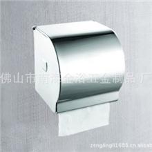 厂价直销304不锈钢全封闭式纸巾盒洒店用纸巾盒纸巾架