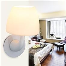简约壁灯过道壁灯卧室壁灯饰批发加盟白色客厅卧室壁灯饰灯具厂家