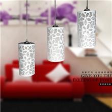 【我家灯饰】吊灯餐厅简约餐吊灯客厅饭厅时尚3头吊灯