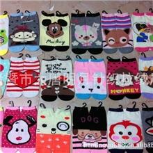 袜子批发韩国可爱动物表情袜女士绦袜长款卡通袜AB袜对对袜