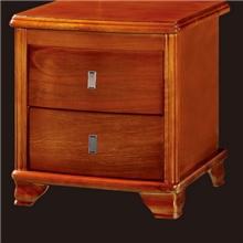 南康家具卧室家具实木家具实木床头柜中式家具04#床头柜直销