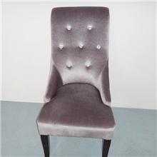 厂家直销宁波酒店餐厅家具包皮包布椅子实木椅实木餐椅椅子