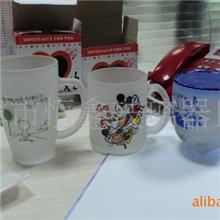 大量供应玻璃马克杯广告玻璃杯磨砂玻璃杯质优价廉